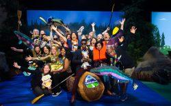 Salesforce Admins take pic at a Salesforce World Tour