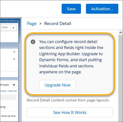 Dynamic forms salesforce