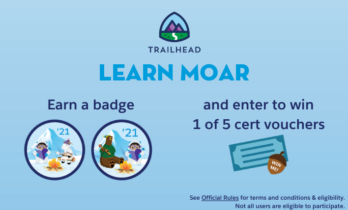 Earn a badge and enter to win