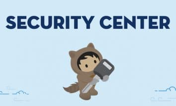 "light blue background with navy text ""Security Center"" and underneath Astro is holding a large key"