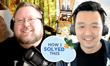 """Image of Mike Gerholdt and Gordon Lee for our """"How I Solved This"""" video series."""