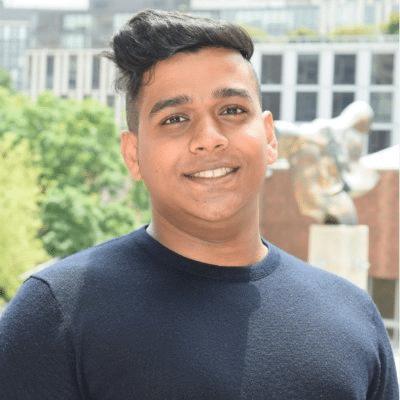 Headshot of Trailblazer Community member, Navid Mudassir.