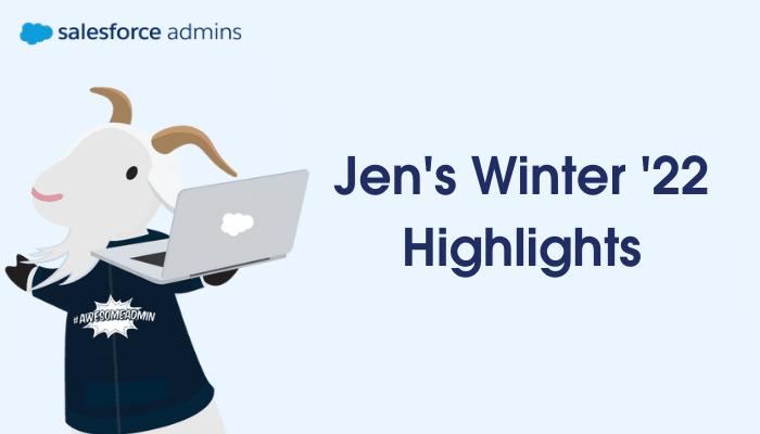 Jen's Winter '22 Highlights