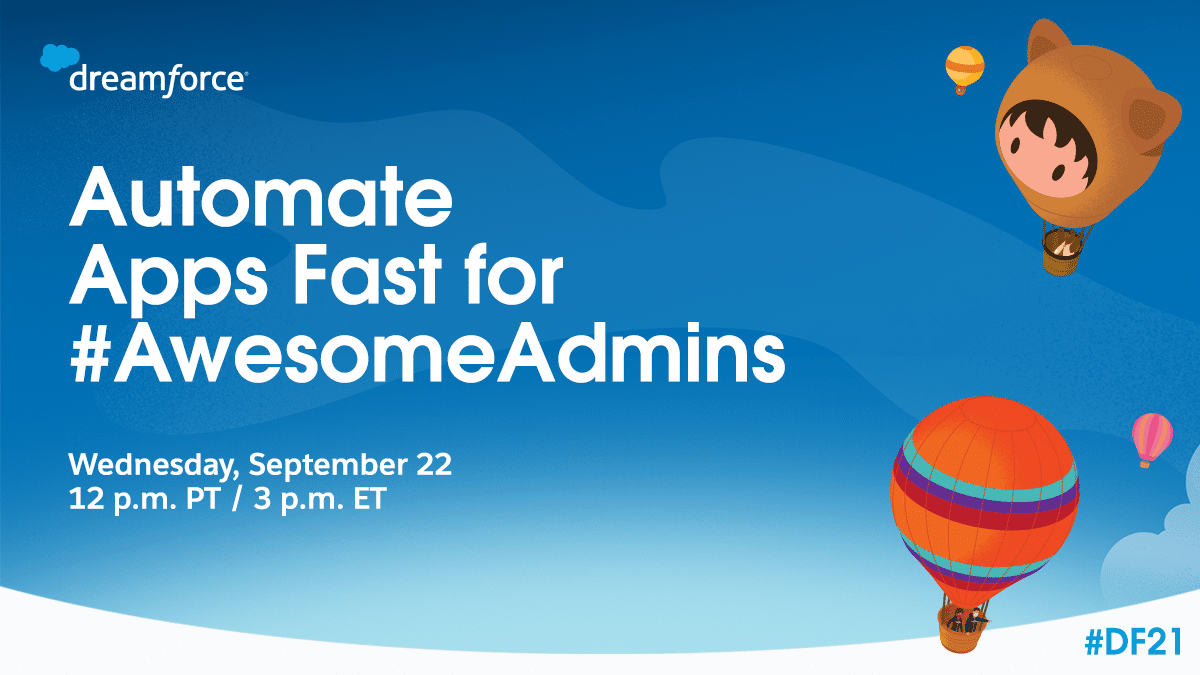 Automate Apps Fast for Awesome Admins