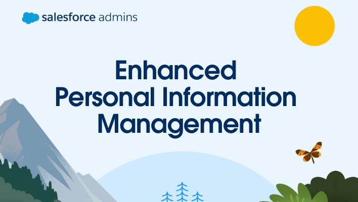 Enhanced Personal Information Management
