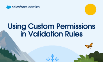 Using Custom Permissions in Validation Rules
