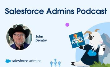 John Demby on the Salesforce Admins Podcast