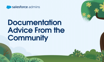 Documentation advice from the community.