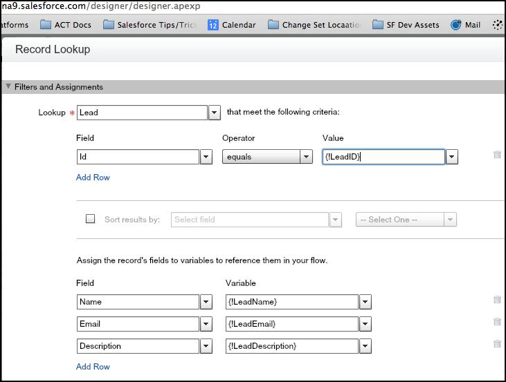 Salesforce Visual Workflow- Keith Sadler